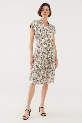 Mavi Kadın Beyaz Elbise 131138-35345 0