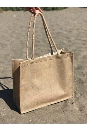 Lebina Hasır Plaj Çantası 2
