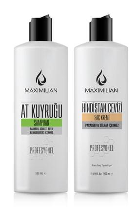 Maximilian Glutensiz At Kuyruğu Şampuanı Hızlı Saç Uzatma Saç Uzatan Dökülme Karşıtı Saç Uzamasına Yardımcı 0
