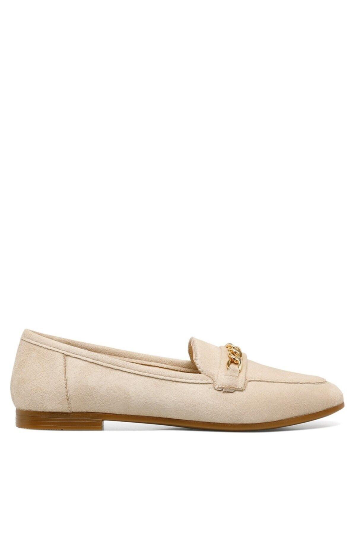 GRENA.Z 1FX Bej Kadın Loafer Ayakkabı 101041710