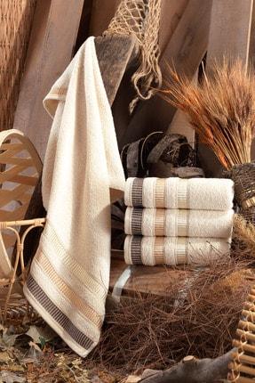 Binnur Home Natural Antibakteriyel El ve Yüz Havlusu 50x90 cm 4'lü 0