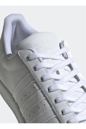 adidas B27136 Beyaz Erkek Sneaker 100214516 4