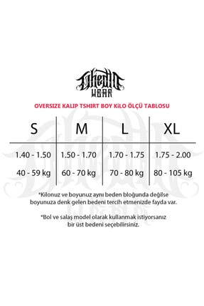 Ghedto Fear Oversize Beyaz Tshirt 2