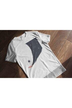 Aventura Clothing Co %100 Pamuk, Regular Fit, Bisiklet Yaka, Baskılı Tshirt - Major Tom 2 4