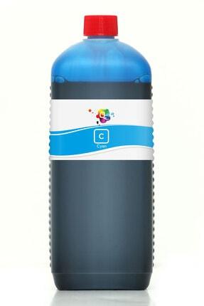 Canon Pgı 570xl Clı 571xl Uyumlu Kartuş Mürekkebi 6 Renk Pro Serisi 1000ml C Dye Mavi SRFT496273