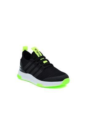 N Drops Unisex Çocuk Siyah Sarı Spor Ayakkabı 1