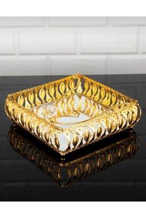 Altın Aynalı Taşlı Peçetelik PEÇETELİK-GOLD