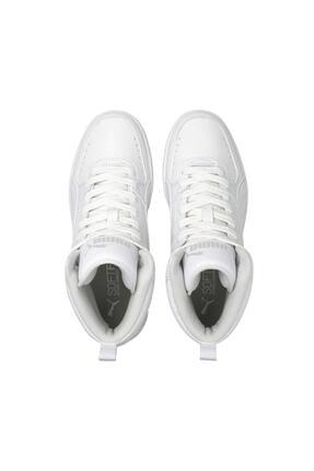 Puma Unisex Beyaz Rebound Joy Jr Basket Ayakkabısı 3