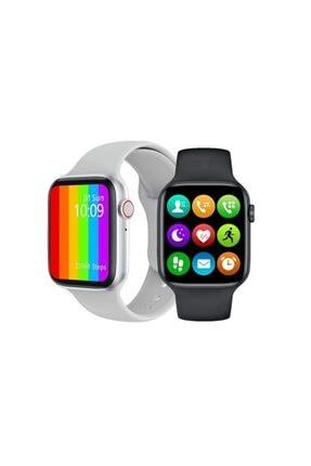 Palmira Aksesuar Iphone Ve Android Uyumlu Watch 6 Plus Son Nesil Siyah Yan Düğme Ileri Geri Ve Yakınlaştırma Aktif 1