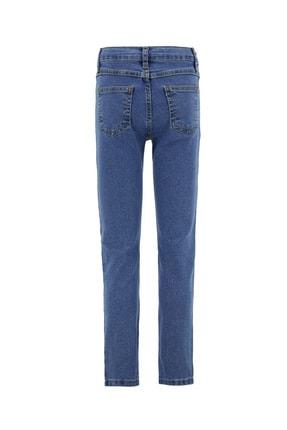 Defacto Erkek Çocuk Slim Fit Yıpratma Detaylı Jean Pantolon 1