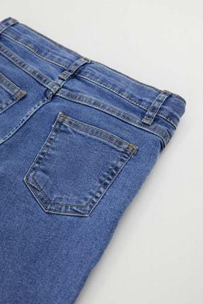 Defacto Erkek Çocuk Slim Fit Yıpratma Detaylı Jean Pantolon 3