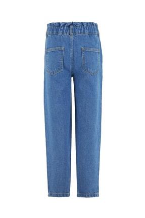 Defacto Kız Çocuk Slouchy Jean Pantolon 1