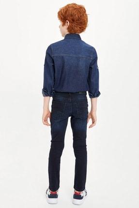 Defacto Erkek Çocuk Çivit Mavisi Kot Jeans 2
