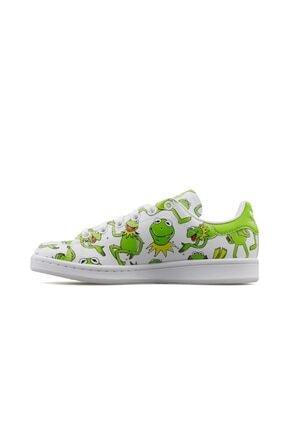 adidas Erkek Yeşil Stan Smith  Günlük Ayakkabı Fz2707 1