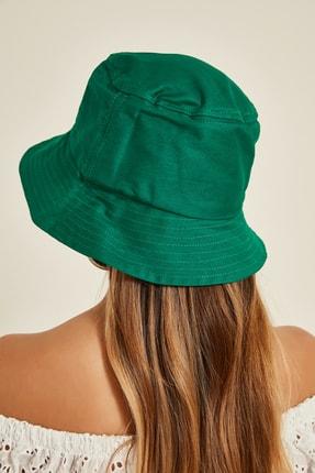 Y-London 13372 Yeşil Buket Şapka 2