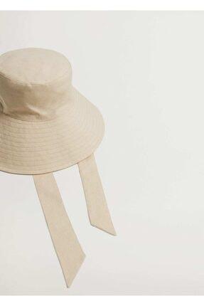Mango Bantlı Bucket Şapka 0