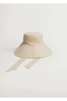 Mango Bantlı Bucket Şapka 2