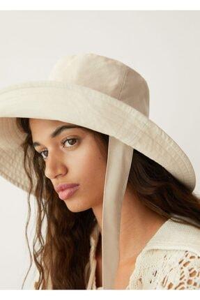 Mango Bantlı Bucket Şapka 3