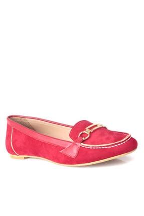 Fitbas 784367 558 Kadın Kırmızı Büyük & Küçük Numara Babet 2