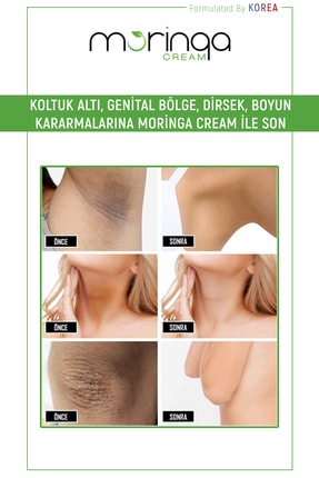 Moringa White Cream Cilt Beyazlatıcı Krem - Formulated By Korea 3