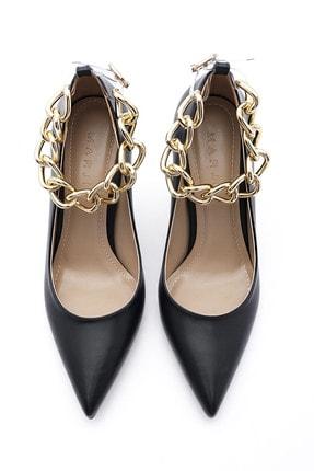 Marjin Kadın Stiletto Topuklu Ayakkabı Nazitasiyah 2