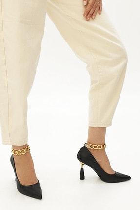 Marjin Kadın Stiletto Topuklu Ayakkabı Nazitasiyah 3