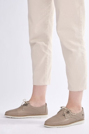 Marjin Kadın Hakiki Deri Comfort Ayakkabı Demasvizon 0