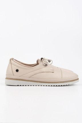 Marjin Kadın Hakiki Deri Comfort Ayakkabı Demasbej 2