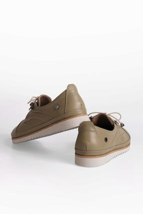 Marjin Kadın Hakiki Deri Comfort Ayakkabı Demashaki 1