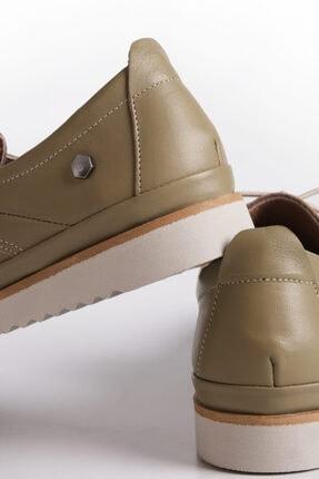 Marjin Kadın Hakiki Deri Comfort Ayakkabı Demashaki 3