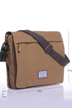 Sword Bag Bej Kanvas Unısex Laptop & Evrak Çantası Sw700 0