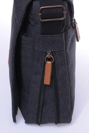 Sword Bag Siyah Kanvas Unısex Laptop &evrak Çantası Sw700 3