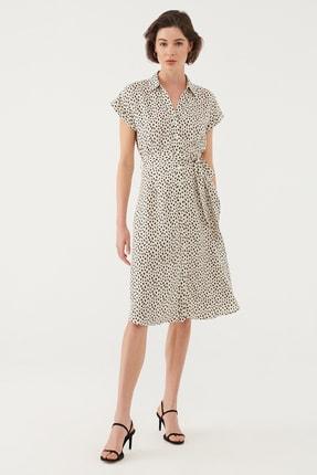 Mavi Kadın Beyaz Elbise 131138-35345 1
