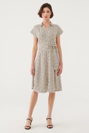 Mavi Kadın Beyaz Elbise 131138-35345 2