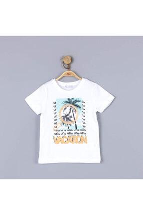 NK Erkek Çocuk Beyaz T-Shirt 0