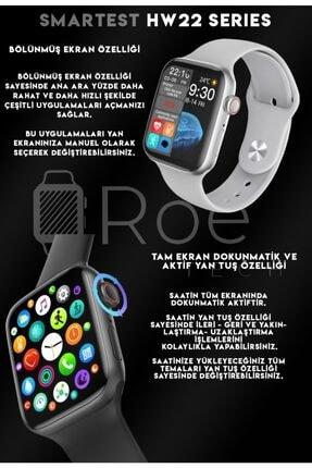SMARTEST Hw22 Series Suya Dayanıklı Nabız & Tansiyon Ölçer Çok Fonksiyonlu Ios Ve Android Uyumlu Akıllı Saat 3
