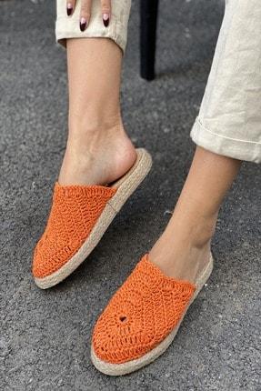 İnan Ayakkabı DANTEL DETAYLI HASIR TERLİK 1