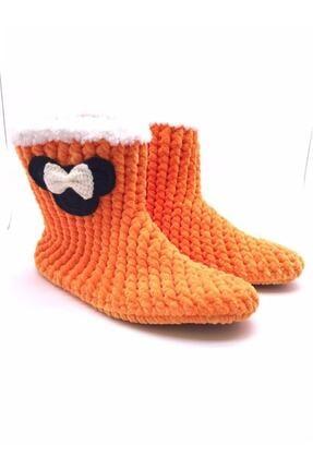 Nmoda Unisex Pembe Panduf Ev Içi Ayakkabısı 0