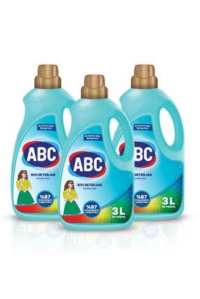ABC Renklilere Özel Sıvı Deterjan 3 Lt 3'lü Set 1