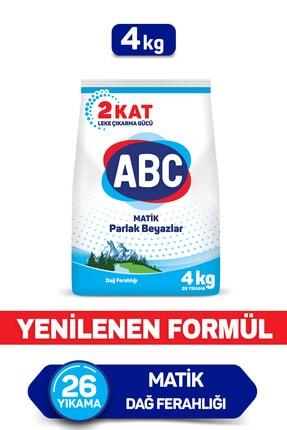 ABC Matik Toz Deterjan Dağ Ferahlığı 4 Kg 0