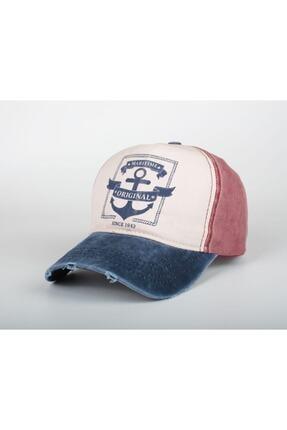 DMONA Maritime Unısex Orjınal Denizci Çapa Eskitme Şapka Kep 2021 0