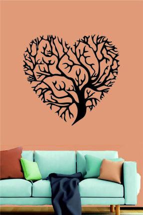 Ağaçlı Kalp Duvar Dekoru ykm-8085