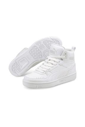 Puma Unisex Beyaz Rebound Joy Jr Basket Ayakkabısı 1