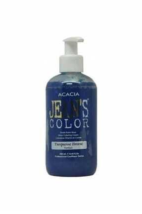 Acacia Saç Boyası  Jean's Color Saç Boyası Turkuaz 250 ml 8680114782614 0