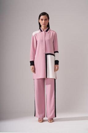Kadın Yanı Sim Şeritli Pantolon resmi