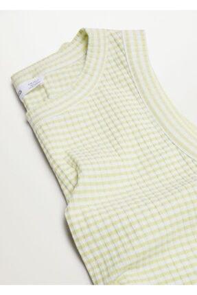 Mango Geri Dönüştürülmüş Polyesterli  Bluz 4