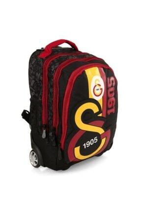 Galatasaray Unisex Sırt Çantası Tekerlekli 1