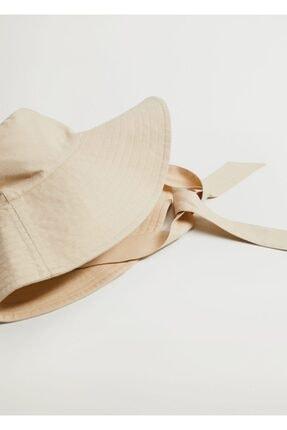 Mango Bantlı Bucket Şapka 4