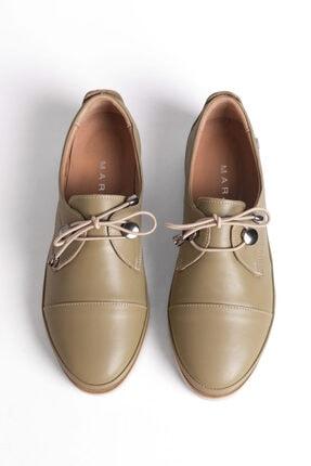 Marjin Kadın Hakiki Deri Comfort Ayakkabı Demashaki 2