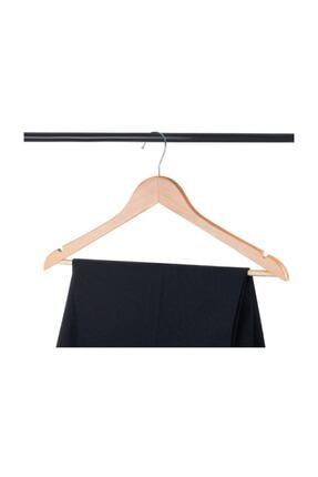 EYNOR Ahşap Askı Kıyafet Ve Elbise Askısı 24'lü Setler 3